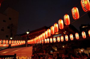 神楽坂のお祭り