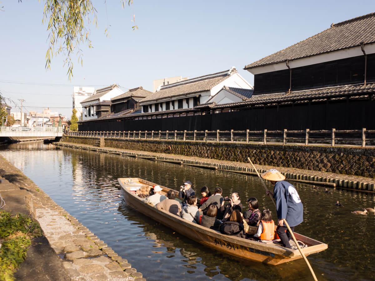 栃木市の巴波川