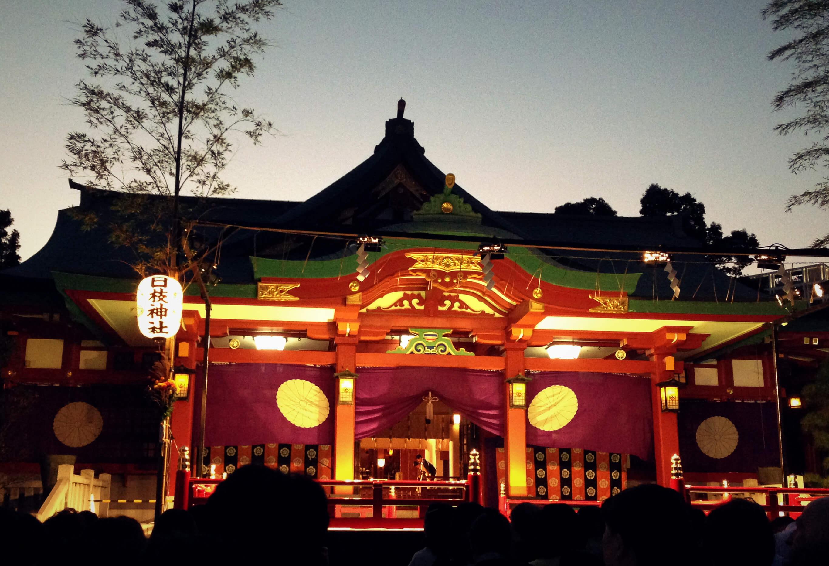 日枝神社の仲秋管絃祭
