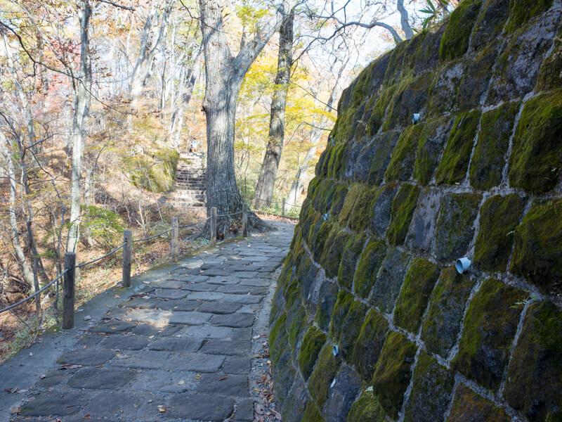 霧降ノ滝の遊歩道