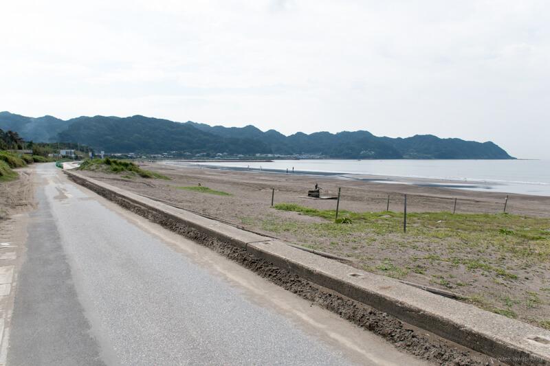 南房総の岩井海岸